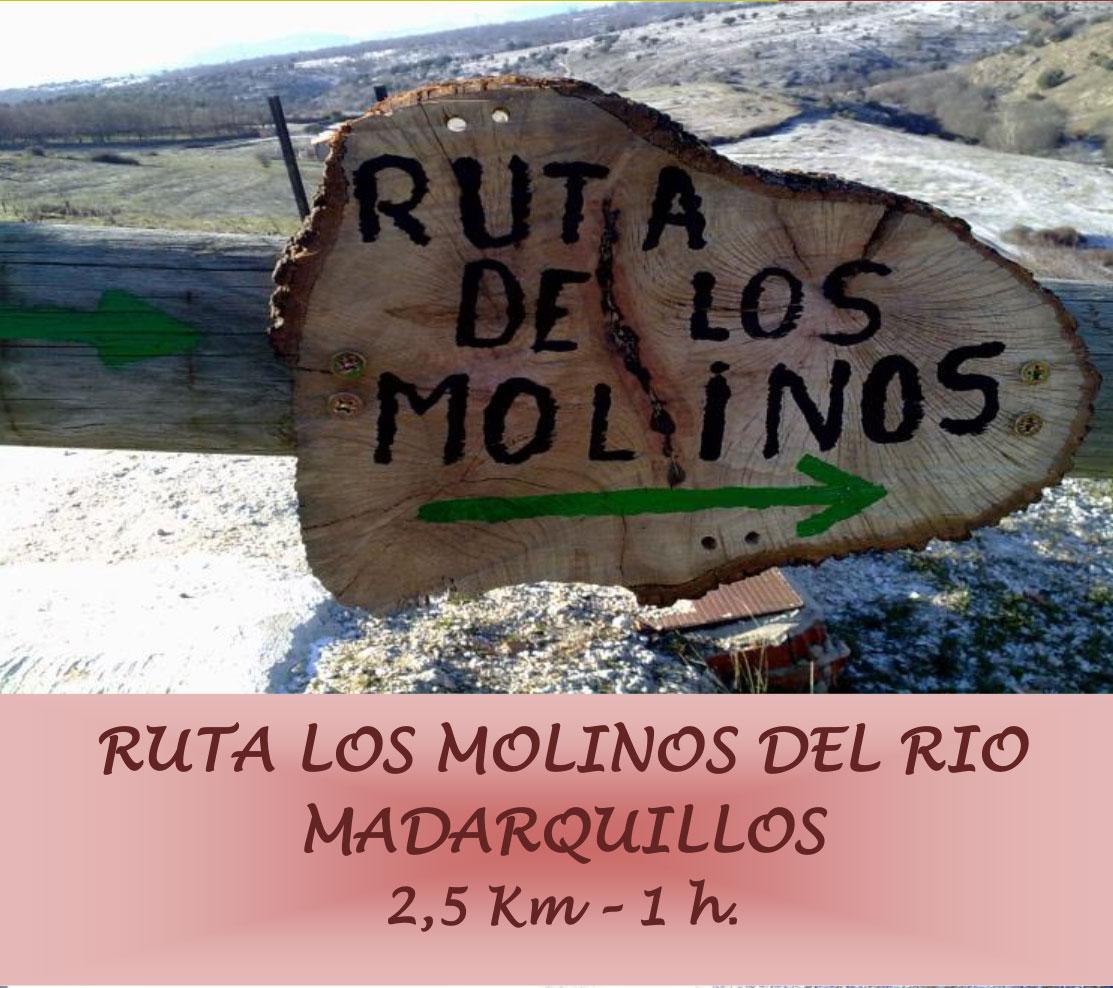 Ruta los molinos del río Madarquillos